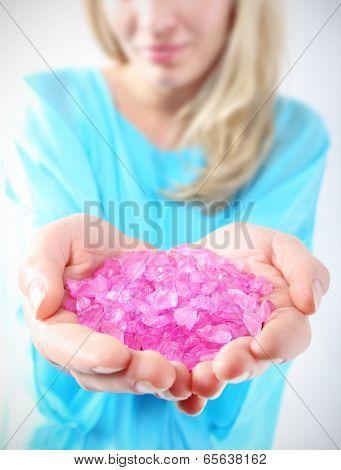 Pastel crystals