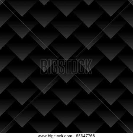 Carbon fiber triangles background. Dragon skin.