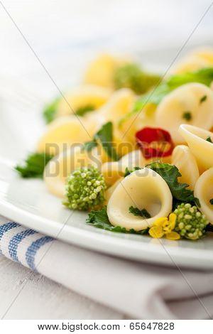 Orecchiette with Cime di Rapa