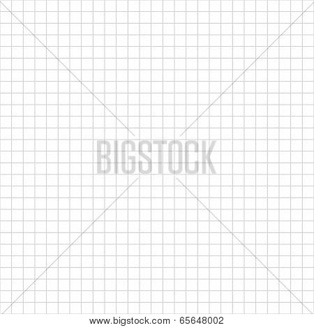 Cell sheet. Sheet of graph paper. Grid background.