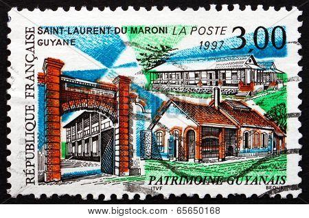 Postage Stamp France 1997 Saint-laurent-du-maroni, French Guiana
