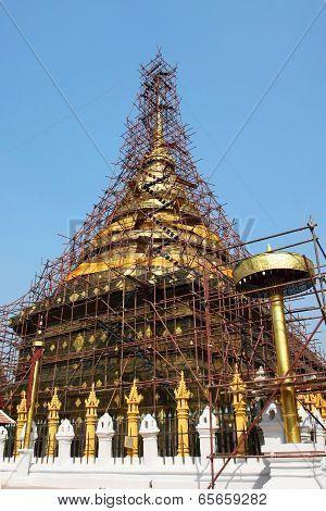 Lampang Luang stupa restored