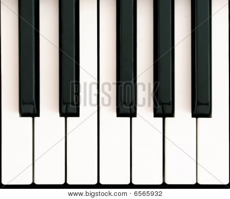Octave On Piano