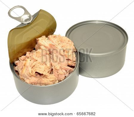 Open Tin Of Tuna Fish