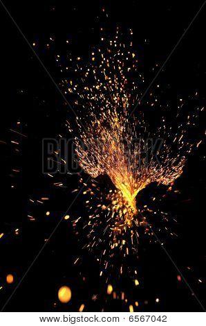 Explosive Sparks