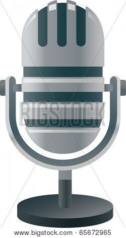 The view of microphone
