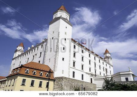 Bratislava Castle.