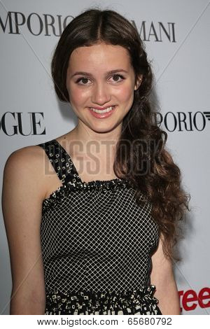 LOS ANGELES - SEP 27:  Maude Apatow at the Teen Vogue's 10th Annual Young Hollywood Party at Private Location on September 27, 2012 in Beverly Hills, CA