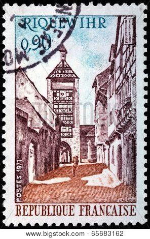 Riquewihr Stamp