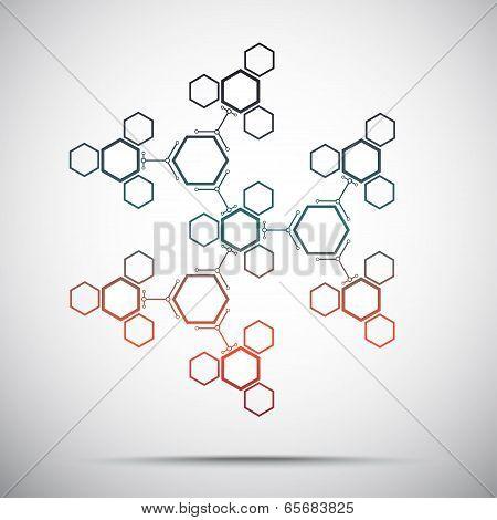 Abstract Kaleidoscope Gradient