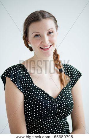 Portrait Of Happy Attractive Woman