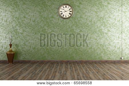 Vintage Room With Venetian Plaster