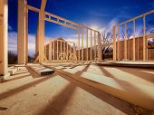 image of 2x4  - New construction of a house - JPG