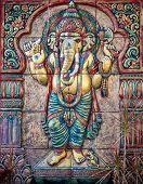 stock photo of hindu-god  - Hindu ganesha God background - JPG