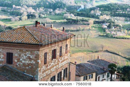 Italy. Tuscany. Montepulciano