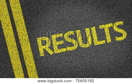 Results written on the road