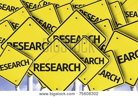 Research written on multiple road sign