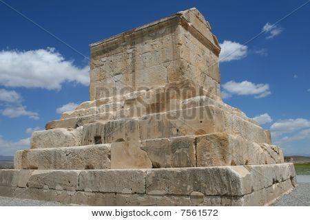 Tomb Of Cyrus The Great Near Persepolis, Iran