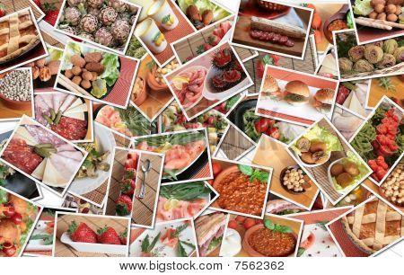 Italian Food Collage