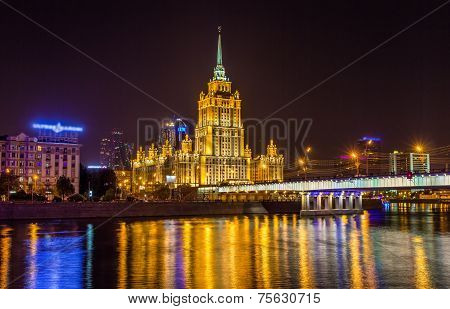 Hotel Ukraine, A Stalin High-rise In Moscow