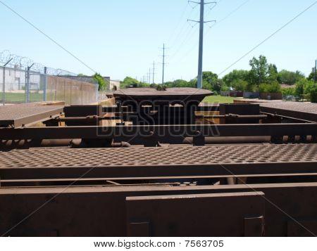 Intermodal Semi Trailer Carrier