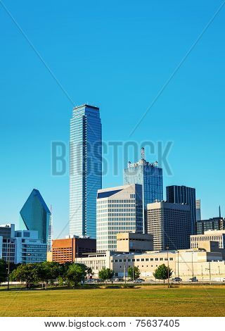 Dallas Cityscape In The Morning