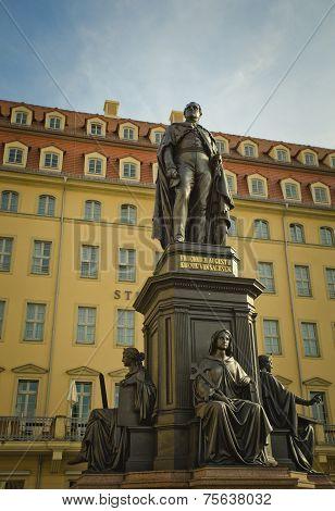 statue in Dresden, Germany