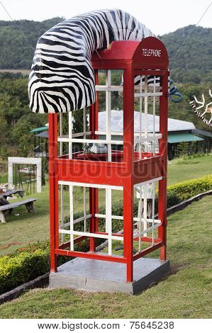 Fashioned Telephone Booth