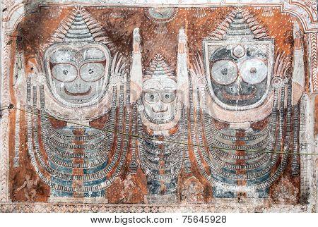 Jagannath Puri Wall Mural
