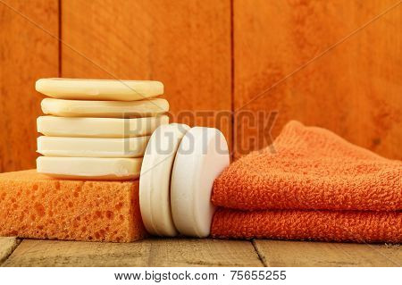 Group Of Objects Useful For Hygiene