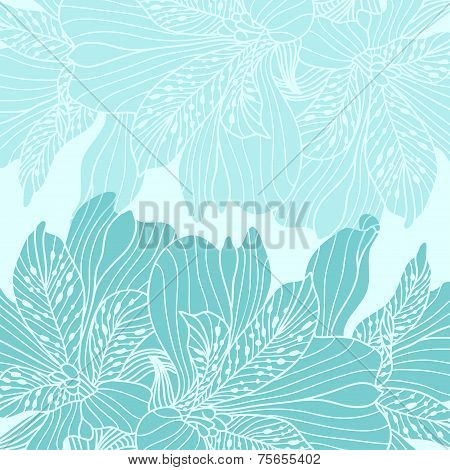 Blue Alstroemeria Background