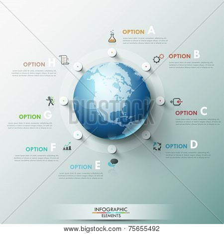 Modern Infographic Options Banner