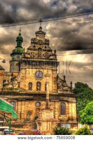 St. Andrew's Church In Lviv, Ukraine