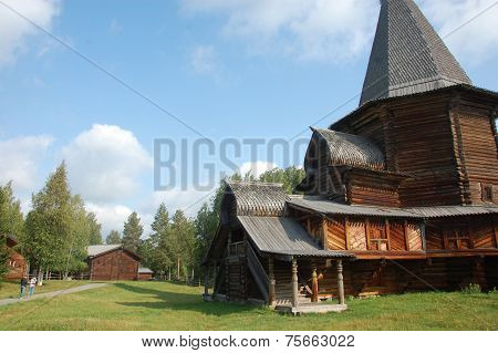 Wooden Architecture Church Russia