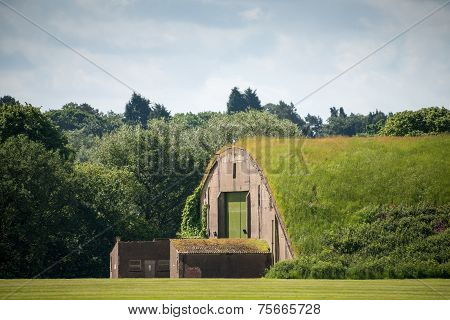 Bunker For Fighter Aircraft