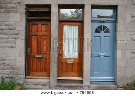 3 Different Doors