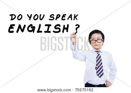 Learning English Language For Kid