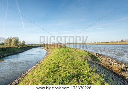 Dutch Landscape With Water