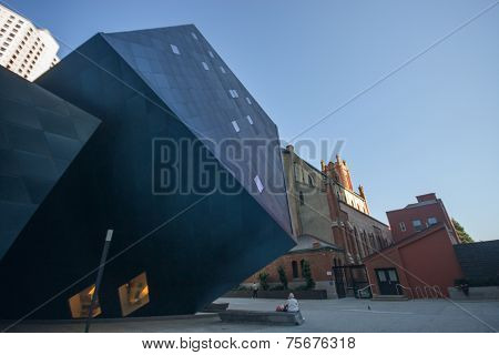 San Francisco, Usa - Oct 1, 2012: The Contemporary Jewish Museum Building On Oct 1, 2012 In San Fran