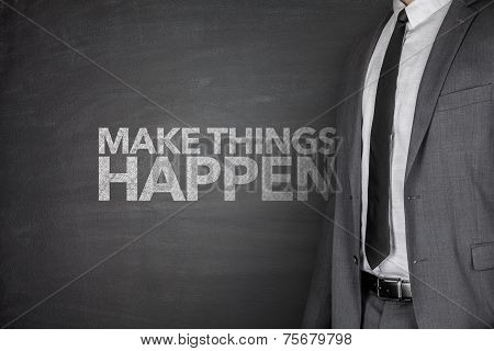 Make things happen on blackboard