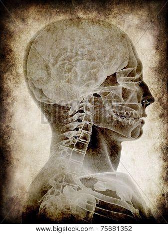 grunge head
