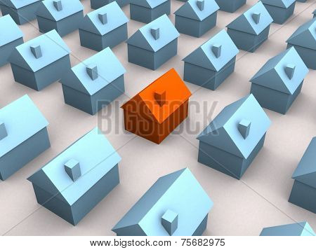 little 3d houses