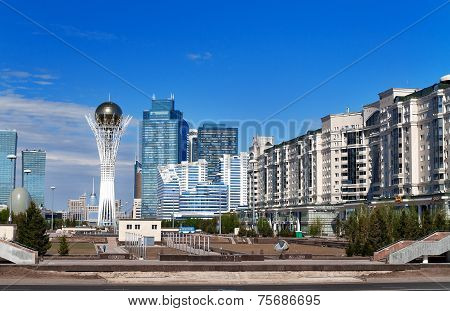 View Of Astana Modern City