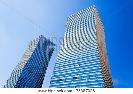 Modern Buildings In Astana. Kazakhsatan