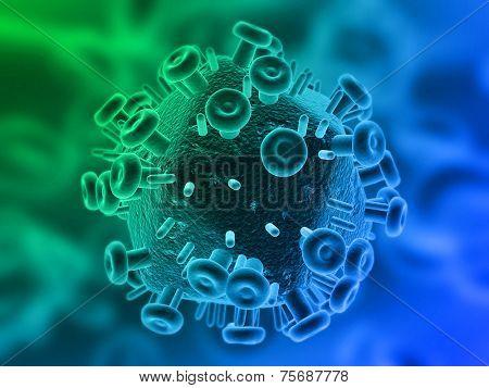 hiv illustration
