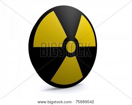 radioactive sign