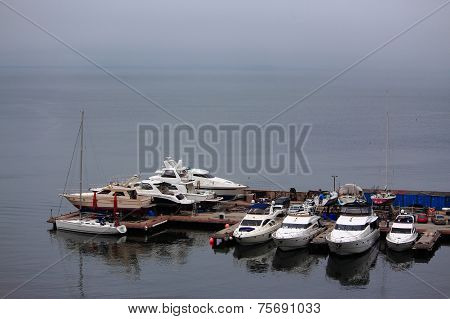 one of ports in Vladivostok