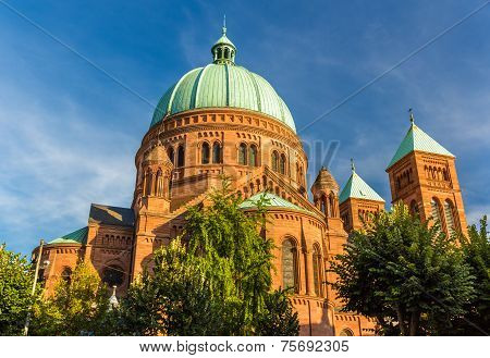 Saint-pierre-le-jeune Church In Strasbourg - Alsace, France