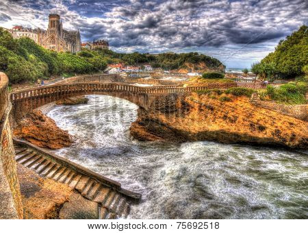 Port Area Of Biarritz - France, Aquitaine