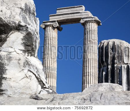 Temple And Oracle Of Apollo